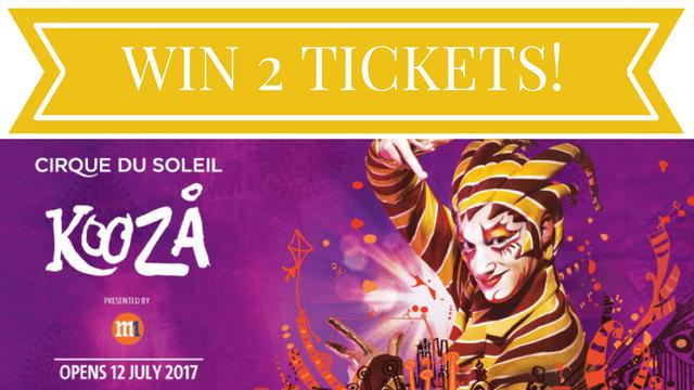 WIN 2 Tickets to KOOZA by Cirque du Soleil!