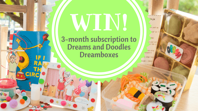 WIN! 3-mo subscription to Dreams and Doodles Dreamboxes