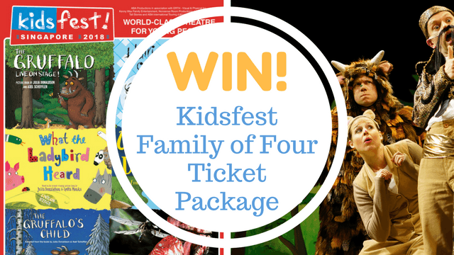 WIN THIS! KidsFest Family of 4 Ticket Package
