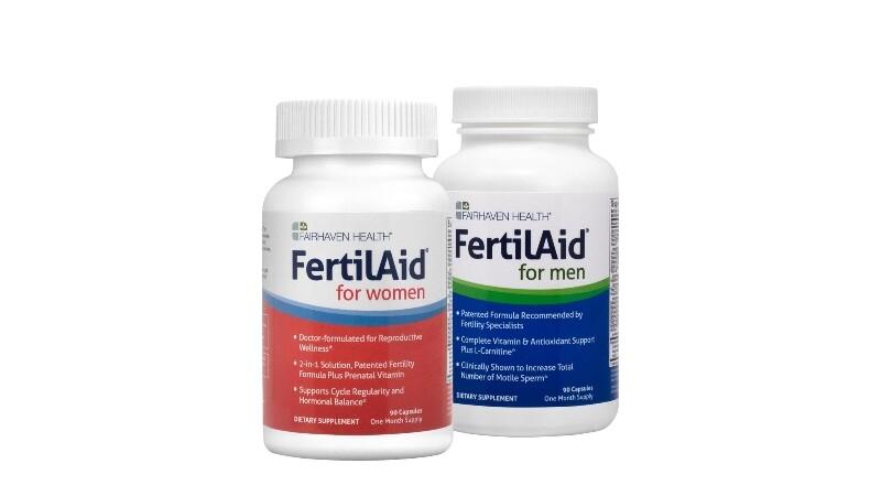 FertilAid Value Pack for Men and Women