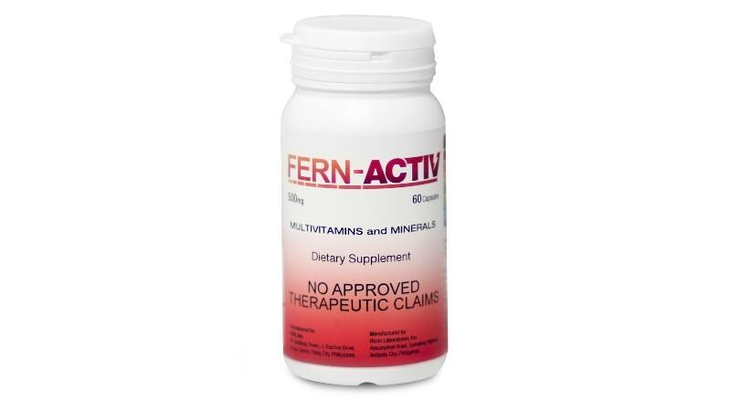 FERN Activ (Vitamin B Complex) 60 capsules per bottle