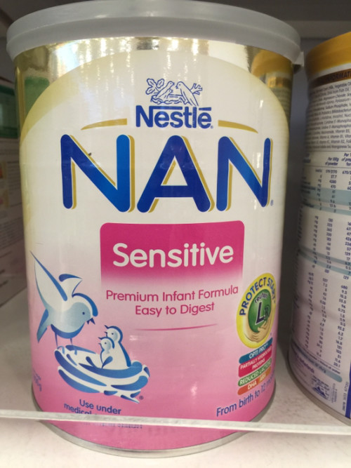 What is the difference with Nan sensitive with - theAsianparent